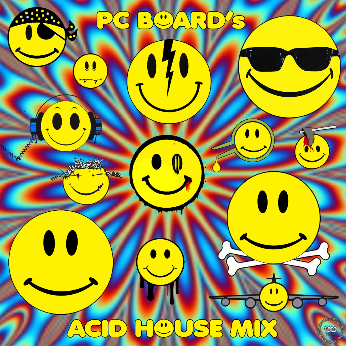 Dj pc board dj pc board acid house mix for Acid house 90s